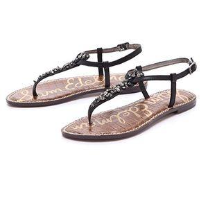 Sam Edelman Gwyneth Jeweled Thong Sandals 8